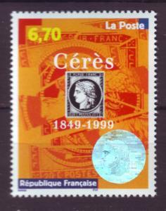 J20360  jlstamps 1999 france mnh set of 1 #2732 french stamp