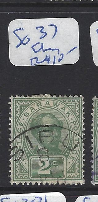 SARAWAK (P1608B)  2C   SG 37    SIBU   VFU