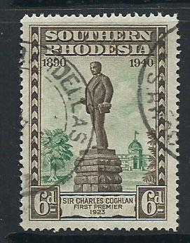Southern Rhodesia SG 59  Used
