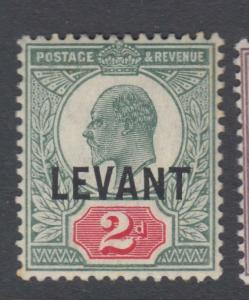 GREAT BRITAIN OFFICES IN TURKEY 18  MINT  HINGED OG * NO FAULTS VERY FINE !