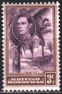 Belize. 1938. 114 from the series. Island landscape. MNH.
