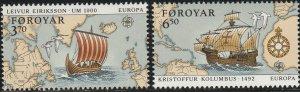 Faroe Islands, #238  Singles From Unused  SS From 1992