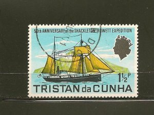 Tristan da Cunha 153  Used