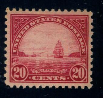 567 MINT VF-XF OG NH Cat$37.50