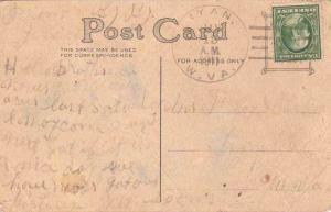 United States West Virginia Ryan 1911 doane 3/1  1888-1965  PC  Creases.