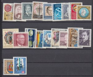 J29525,  1981 austria mnh stamps all different #1182-1201