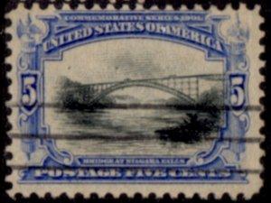US Scott #297 - Pan-American Exposition 1901 Perf 12 w/ #191 Water Mark CV~$18