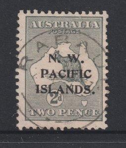 New Guinea a used 2d roo overprint die 2