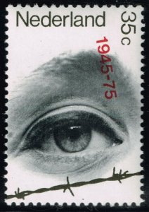 Netherlands #528 Eye Looking Over Barbed Wire; MNH (5Stars)