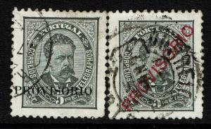 Portugal SC# 79 and 81, Used - Lot 072317