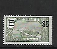 GUADELOUPE, 88, MINT HINGED HINGE REMNANT, GRAND TERRE