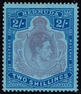 Bermuda #123 King George VI; Unused (3Stars)