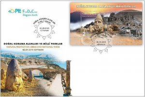 TURKEY/2019 - (FDC) NATIONAL PARKS-2 (Adiyaman), MNH, Mi: 4540 (Block 193)
