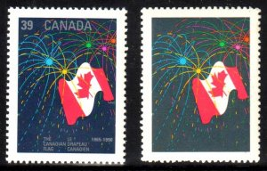 Canada #1278a XF NH Silver Omitted and Untagged Variety ERROR C$3000,00