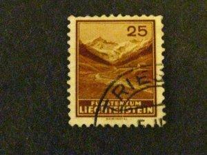 Liechtenstein #121 used  c203 473
