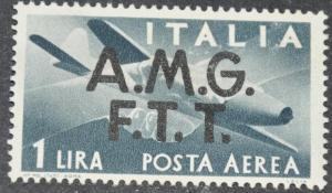 DYNAMITE Stamps: Trieste Stamp Scott #C1 – UNUSED