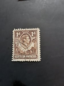 *Northern Rhodesia #27                    Used