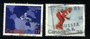 Can #847-48   -2    used VF 1980 PD