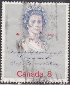 Canada 620 USED 1973 Royal Visit