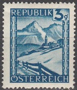 Austria #455 MNH