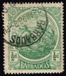 Barbados #128 Seal of the Colony; Used (0.25)