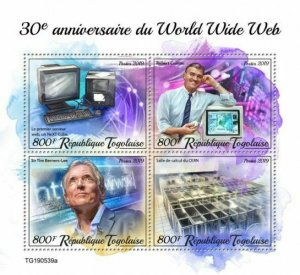 Z08 TG190539a TOGO 2019 World Wide Web MNH ** Postfrisch