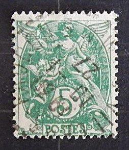 1900, France, 5c, MC #90x