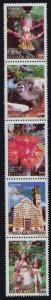 Ecuador 1579 MNH Flowers, Orchid, Animals, Architecture, Costumes