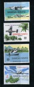 Samoa MNH C3-6 Airplanes