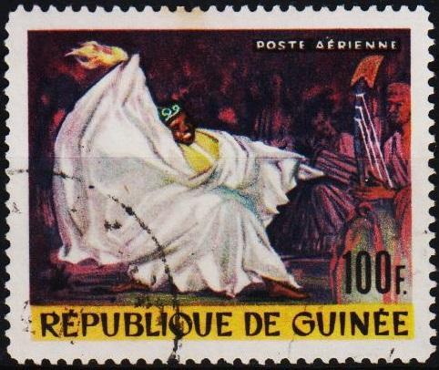 Guinea. 1966 100f. S.G.524 Fine Used