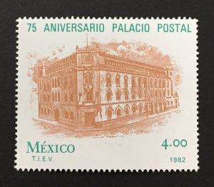 Mexico 1982 #1266, Postal HQ 75th Anniversary, MNH.
