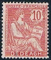 France Offices in Turkey 10 MNH  1902 (MV0059)