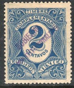 MEXICO-Monterrey 435VAR TII 2¢ GOB. REV PROV OVPT CONSTIT.. UNUSED VF (1251)