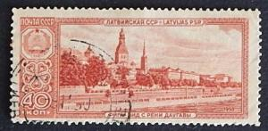 Architecture and buildings, 1958, Europe, Russia and the Soviet Union, №1024-T