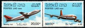 Laos #C120-21  MNH CV $11.50 (X9550)