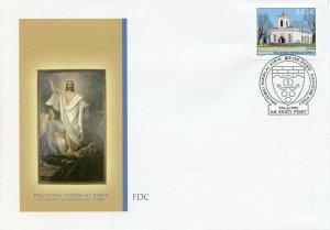 Estonia Churches Stamps 2020 FDC St Nicholas Church Paldiski Architecture 1v Set