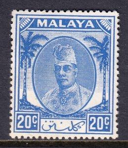 Malaya (Kelantan) - Scott #68 - MH - SCV $1.50
