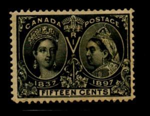 Canada Sc 58 1897 15c Victoria Jubilee stamp mint