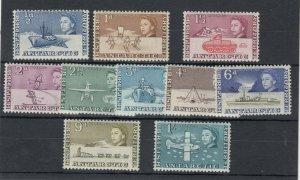 British Antarctic Territories QEII 1963 Pictorial Set To 1/- SG1/10 MNH JK3858