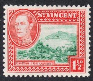 St. Vincent Scott 143 VF mint OG HH.
