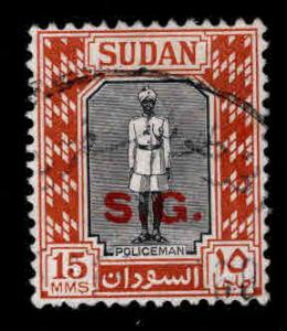 SUDAN Scott o50 Used official stamp