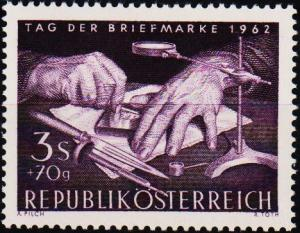 Austria. 1962 3s+70g S.G.1393 Unmounted Mint