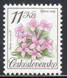 Czechoslovakia 2842 - Mint-NH - Flower ($3.25)