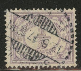 Netherlands Indies  Scott 101 used  from 1912-20 set