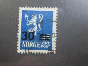 Norway #129 used
