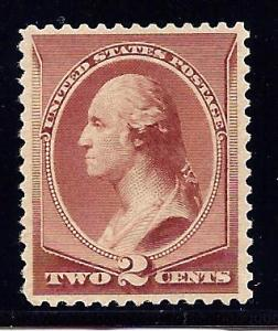 #210 Mint,OG,NH... PSE Cert... SCV $135.00... What a nice looking stamp