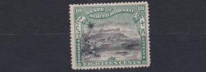 NORTH BORNEO  1897 - 02   S G  110B  18C  BLACK  &  GREEN    NO GUM  CAT £130