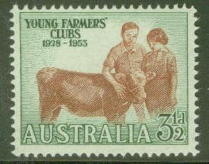 Australia Scott 262 MNH** 1953 stamp