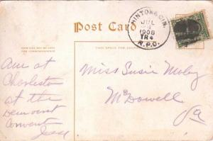 United States U.S. R.P.O.'s Hinton & Cin. 1908 303-AP-9  PC  Crease at bottom...
