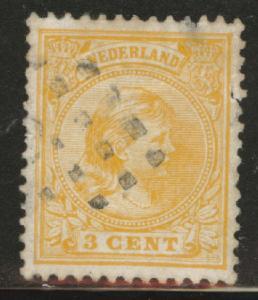 Netherlands Scott 40a used Princess Wilhelmina  1891-1894
